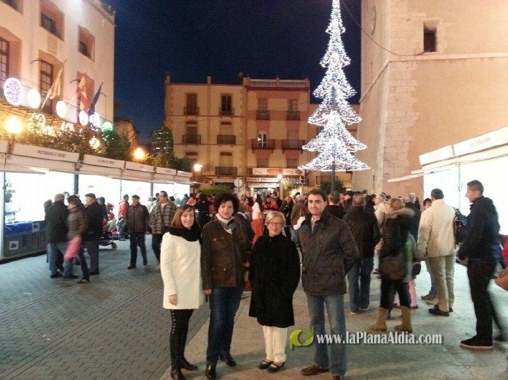 Vinaròs inaugura la tercera edición del Mercat de Nadal - La Plana al Dia