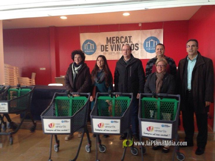 El Mercat municipal de Vinarós dispondrá de 20 carros a ... - La Plana al Dia