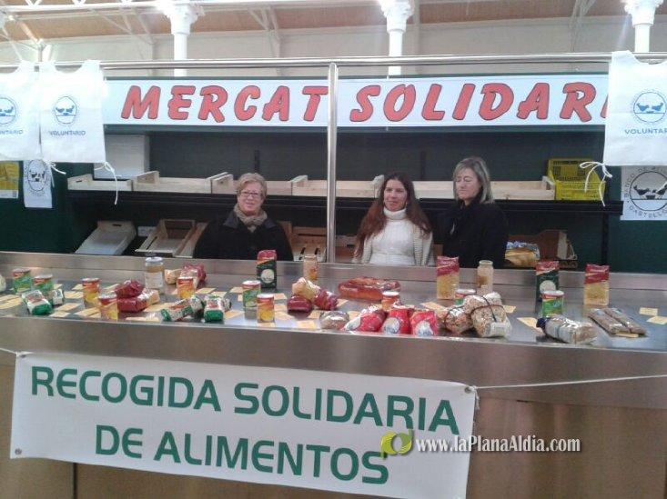 La recogida de alimentos logra en Vinaròs 20.000 kilos - La Plana al Dia
