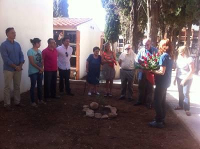 El PSPV ultima con el alcalde la colocación de la placa en homenaje a la Memoria Histórica