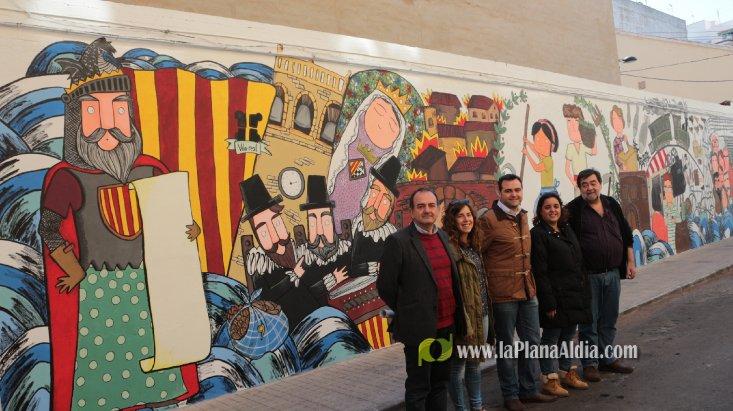 Noticias de vila real un mural per a la hist ria de vila real for Caracteristicas de un mural