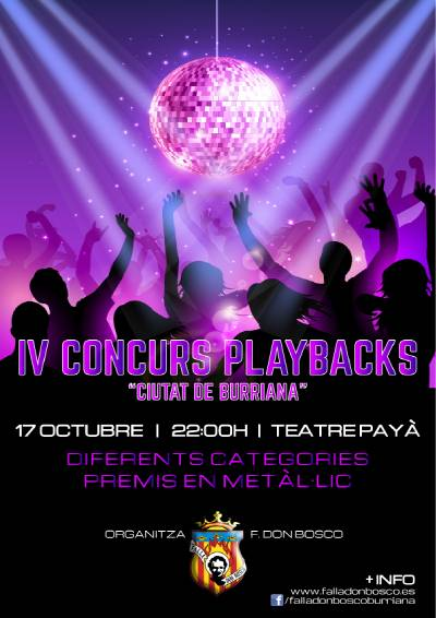 La Falla Don Bosco abre las inscripciones para el IV Concurs de Playbacks Ciutat de Borriana