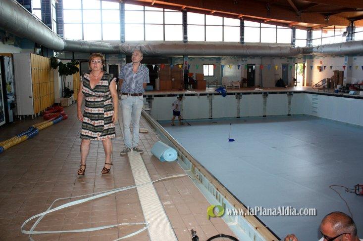 Noticias de almassora comienzan las obras de renovaci n for Piscina municipal castellon