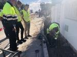 Almassora :: Facsa renova la xarxa d'aigua en la platja d'Almassora per a pal•liar fugides