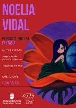 Cabanes :: Exposició de pintura de Noelia Vidal al Casal Jove