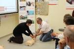l'Alcora :: Gran éxito del curso de primeros auxilios para bebés del Plan de Salud de Cruz Roja Alcora