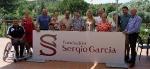 Borriol :: La Fundación Sergio García dona una silla de ruedas deportiva a Pedro Gil Albalat.