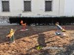 La Vilavella :: Instal·len gronxadors al costat de la Caserna de la Guàrdia Civil de Nules